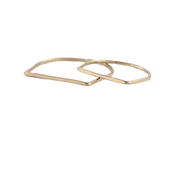 Delicate D Ring