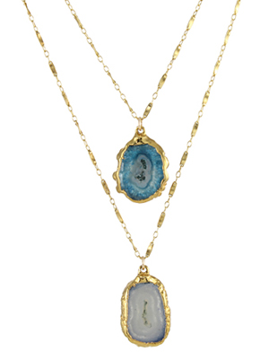 Double Agate Necklace