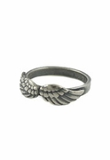Double Angel Wing Ring