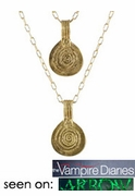 Double Berber Pendant Necklace