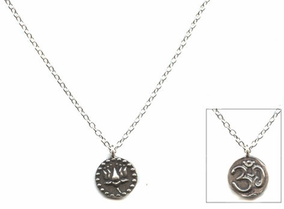 Double-Sided Om Necklace