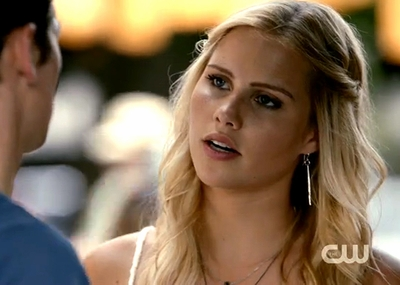 Episode 5x01 Rebekah Silver Earrings