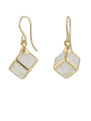 Escher Cube Earrings