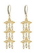 Fancy Filigree Chandelier Earrings