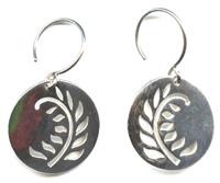 Fern Feather Earrings
