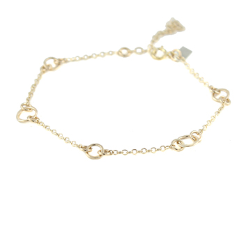 Floating Circles Chain Bracelet