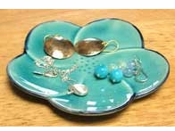 Flower Jewelry Dish