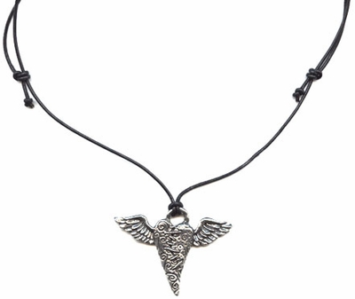 Flying Heart Necklace -- NA