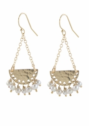 Fringe Pearl Earrings