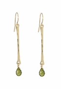 Gem Bar Earrings