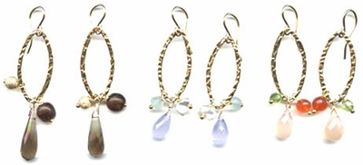 Gem Sparkler Earrings (3 colors)