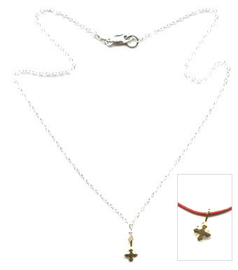 Gold Cross Necklace -- NA