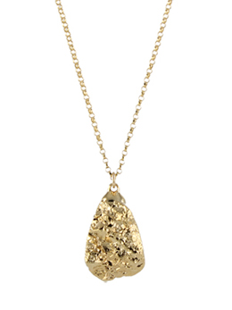 Golden Pyrite Necklace