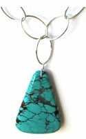 Loopy Turquoise Necklace -- NA
