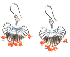 Lotus Blossom Earrings -- NA