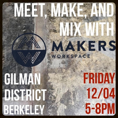 Makers Workspace Open House Dec. 4