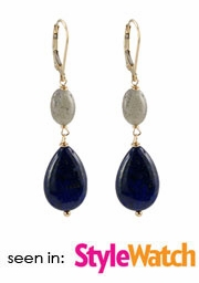 Midnight Lapis Earrings