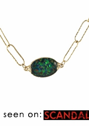 Mosaic Opal Necklace