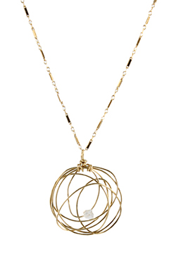 Nested Jewel Necklace