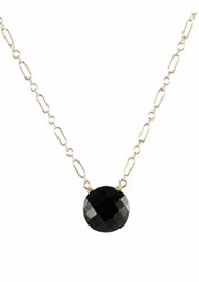 Onyx Bubble Necklace