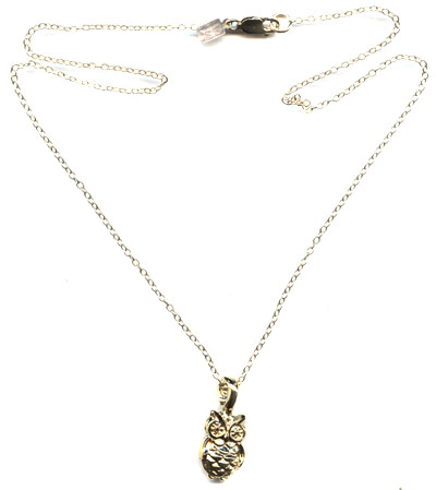 Owl Charm Necklace