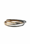 Oxidized Ombre Ring