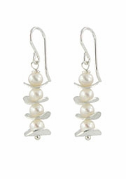 Pearl Stack Earrings