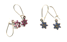 Petite Fleur Earrings -- NA