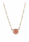 Pink Opal Bubble Necklace