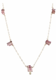Pink Passion Tourmaline Necklace