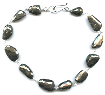 Pyrite Necklace -- NA