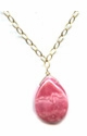 Rhodochrosite Pink Passion Necklace