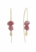 Ruby Spear Earrings