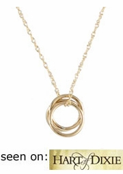 Selena Gold Circles Necklace