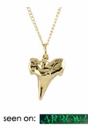 Shark Tooth Charm Necklace