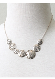 Silver Orbital Necklace