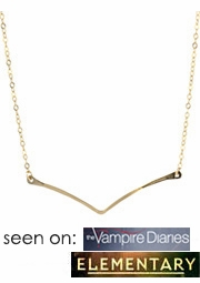 Single Chevron Necklace