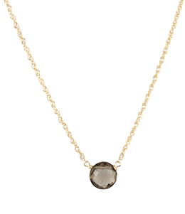 Smoky Bubble Necklace