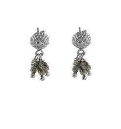 Smoky Diamond Earrings