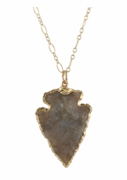 Southwest Arrowhead Necklace