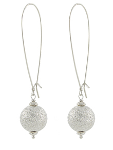 Stardust Globe Earrings