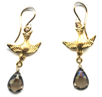 Swallow Drop Earrings