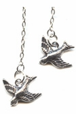 Swallow Lariat Necklace -- NA