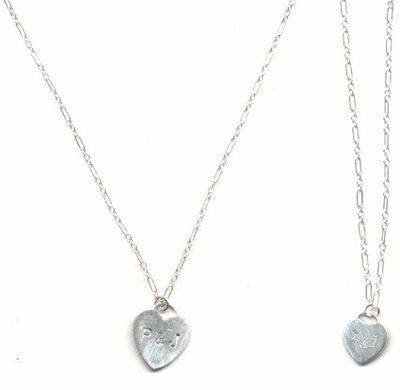 Sweetheart Initial Necklace