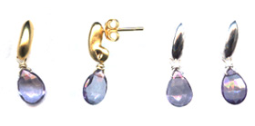 Topaz Post Earrings