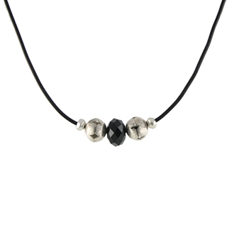Tough Girl Leather Necklace