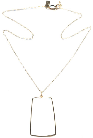 Trapezoid Necklace