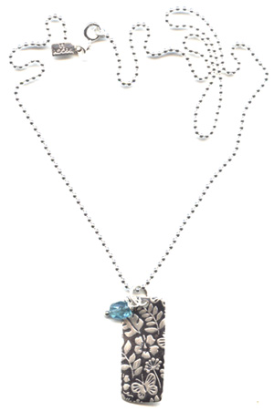 Tropical Tag Necklace