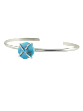 Turquoise Claw Cuff