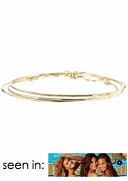 Twisted Bangle Bracelet